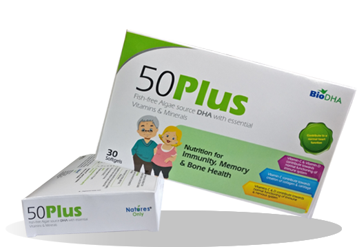 50Plus - Immunity, Healthy, Heart, Vision & Memory