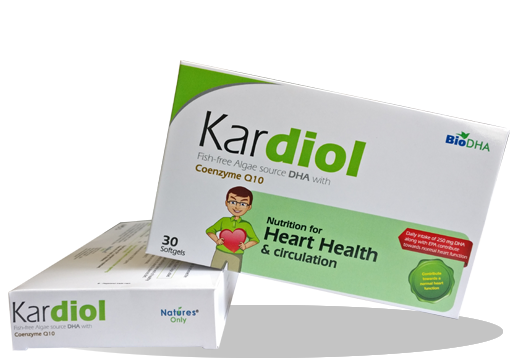 Kardiol - Fish-free Algae source DHA